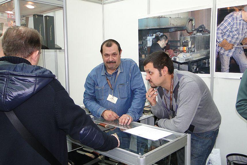 Пампуха И.Ю на Московской международной выставке ARMS & Hunting»ARMS & Hunting 2013 (Гостиный двор)